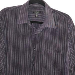 Van Heusen size 16-161/2 purple shirt
